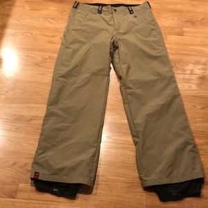 Bonfire snowboarding ski pants dry level 1 large